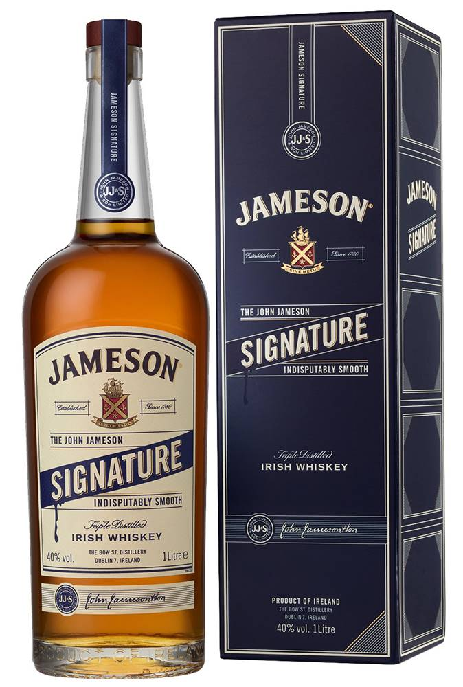 Jameson Jameson Signature 1l 40%