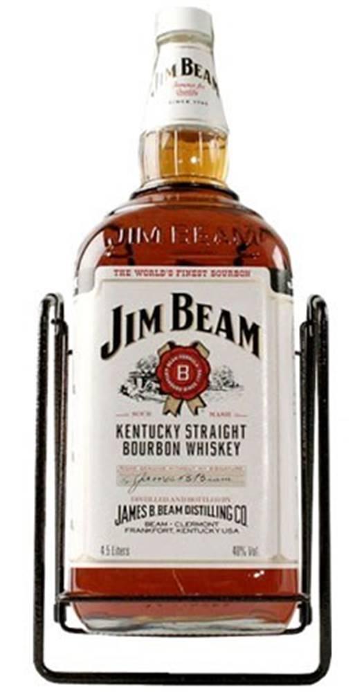 Jim Beam Jim Beam 4,5l v kolíske 40%