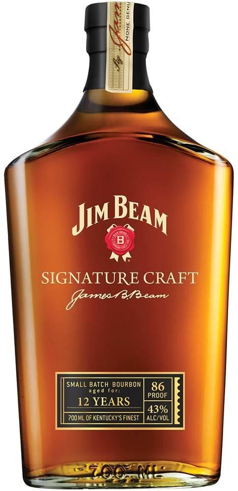 Jim Beam Jim Beam Signature Craft 12 ročná 43% 0,7l