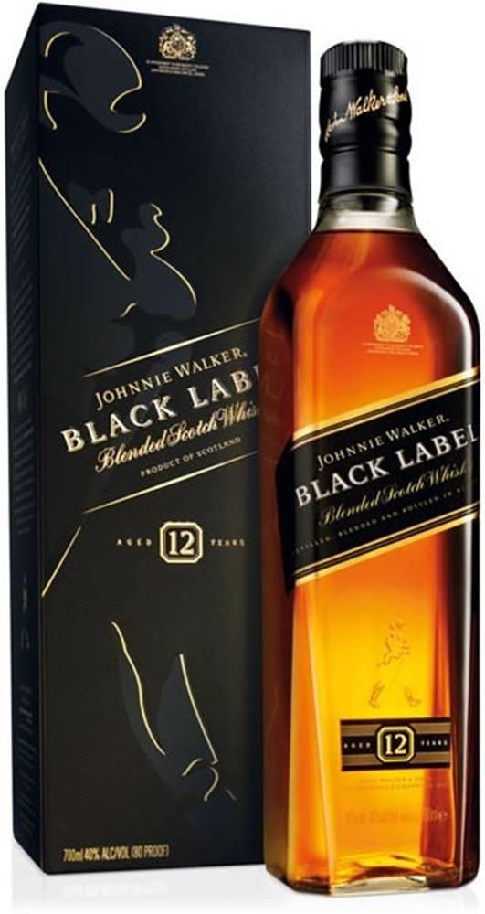 Johnnie Walker Johnnie Walker Black Label 12 ročná 40% 0,7l