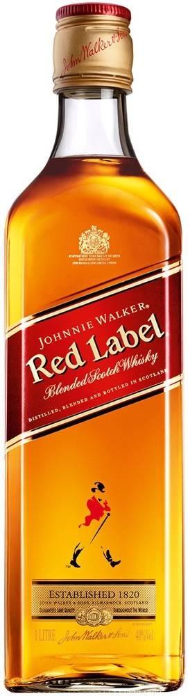 Johnnie Walker Johnnie Walker Red Label 1l 40%