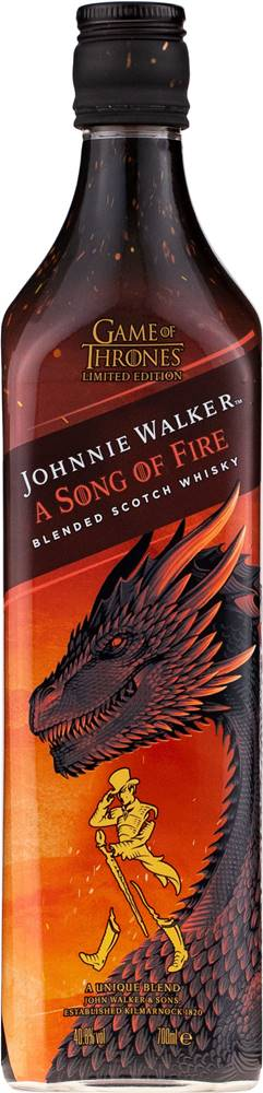 Johnnie Walker Johnnie Walker Song of Fire Game of Thrones 40,8% 0,7l