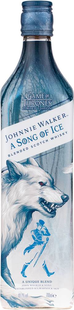 Johnnie Walker Johnnie Walker Song of Ice Game of Thrones 40,2% 0,7l