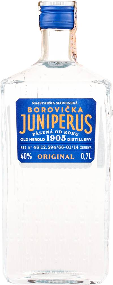 Nicolaus Juniperus Borovička 40% 0,7l
