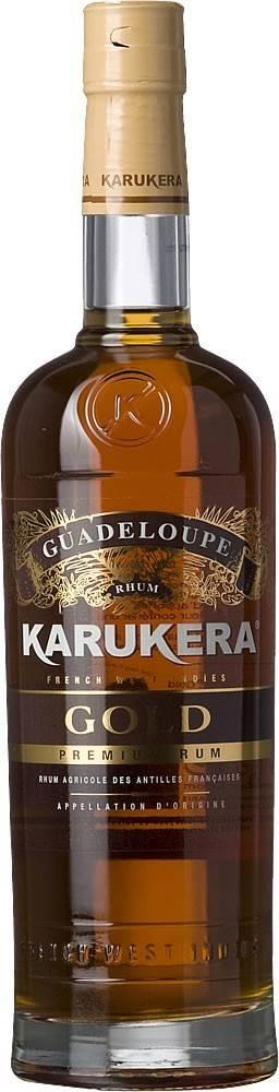 Karukera Karukera Rhum Gold 40% 0,7l