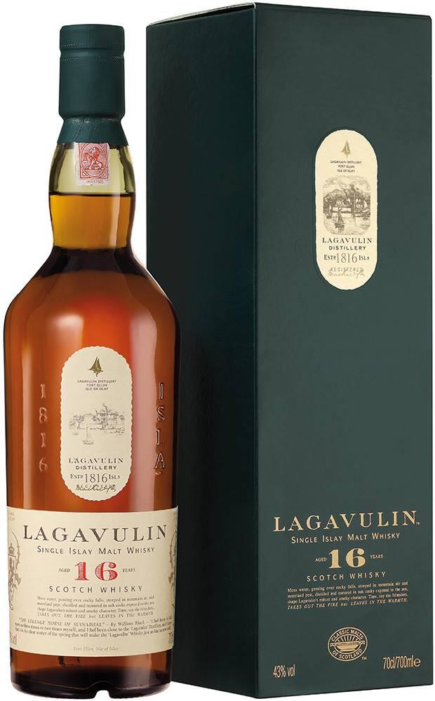 Lagavulin Lagavulin 16 ročná 43% 0,7l
