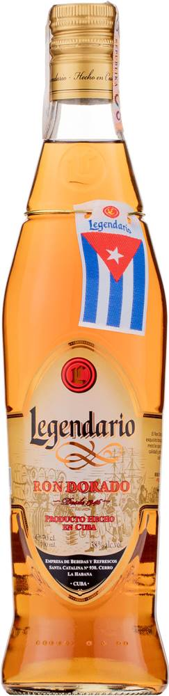 Legendario Legendario Ron Dorado 38% 0,7l