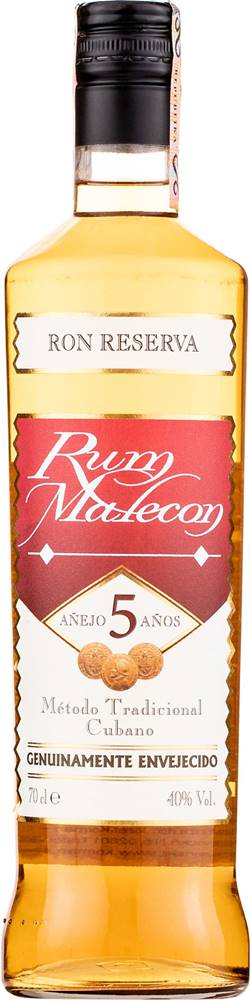 Malecon Malecon Reserva 5 ročný 40% 0,7l