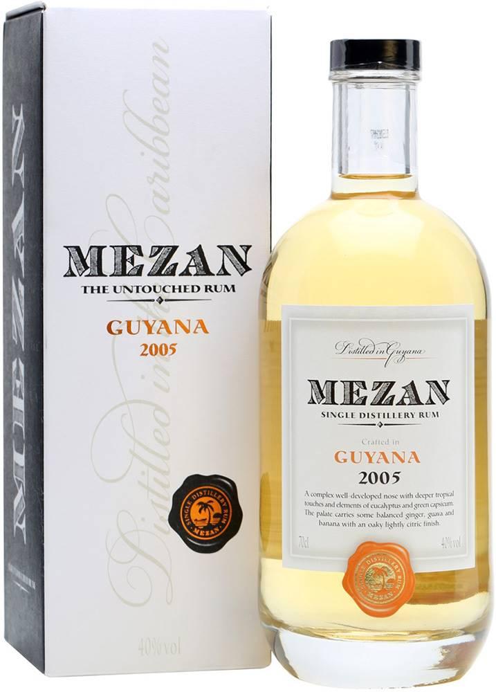 Mezan Mezan Guyana 2005 40% 0,7l