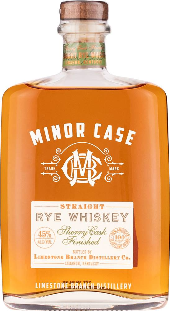 Minor Case Minor Case Straight Rye 90 Proof 45% 0,7l