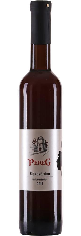 Pereg Pereg Šípkové víno 11% 0,5l