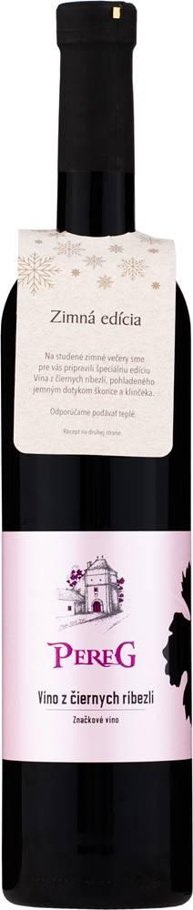 Pereg Pereg z čiernych ríbezlí Zimná edícia 11% 0,75l