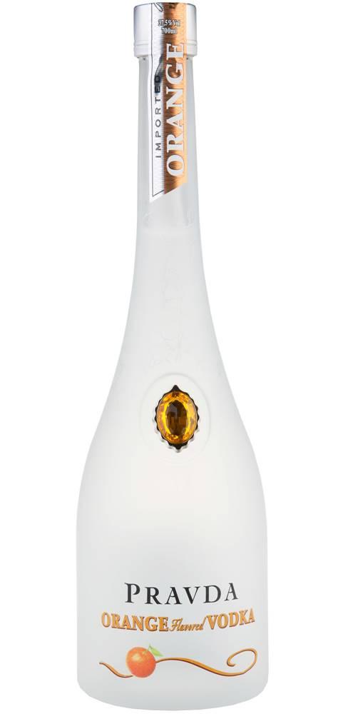 Pravda Pravda Vodka Orange 37,5% 0,7l