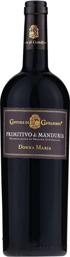 Cantore di Castelforte Primitivo di Manduria D.O.C. Donna Maria Cantore di Castelforte 14,5% 0,75l