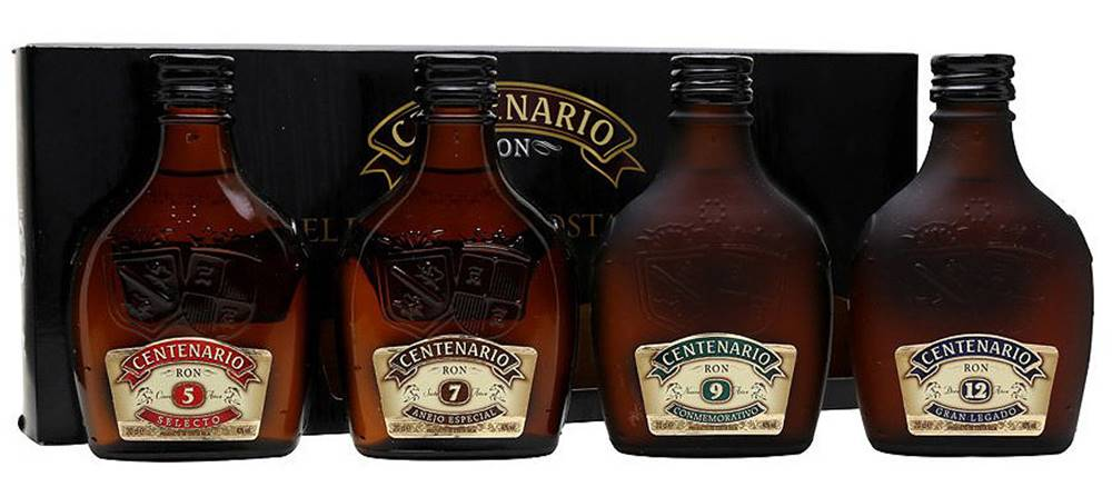 Ron Centenario Ron Centenario Tasting Collection 4x0,2l 40% 0,8l