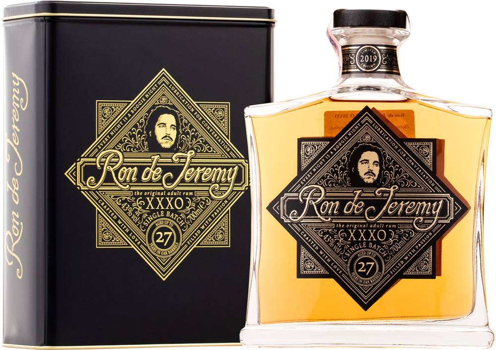 Ron de Jeremy Ron de Jeremy XXXO Limited Edition 2019 43% 0,7l