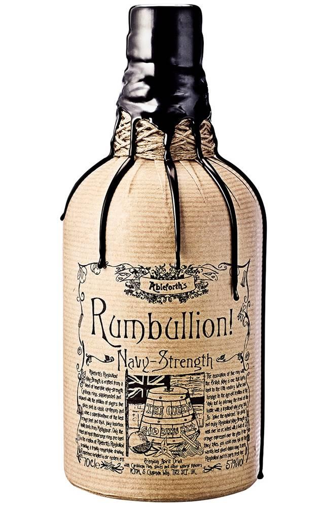 Professor Cornelius Ampleforth Rumbullion! Navy Strength 57% 0,7l