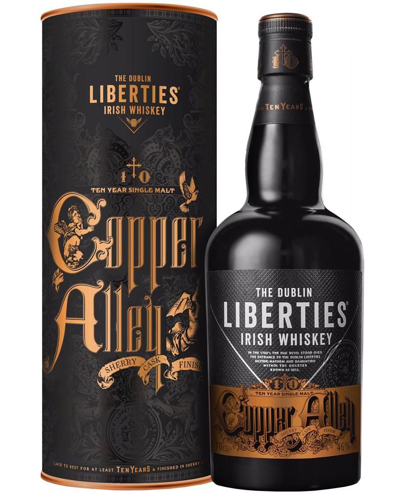 The Dublin Liberties The Dublin Liberties Copper Alley 10 ročná Sherry Cask Finish 46% 0,7l
