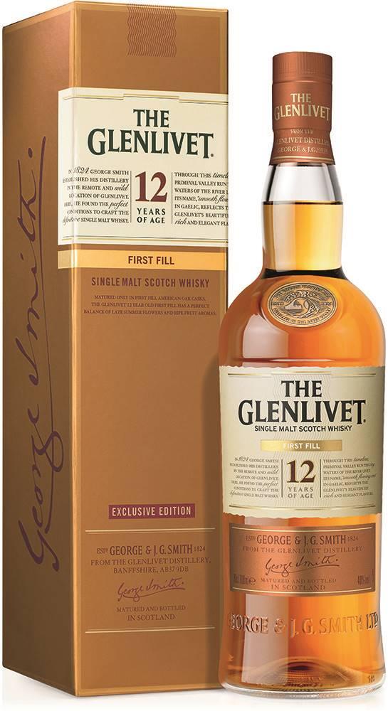 The Glenlivet The Glenlivet 12 Ročná First Fill 40% 0,7l