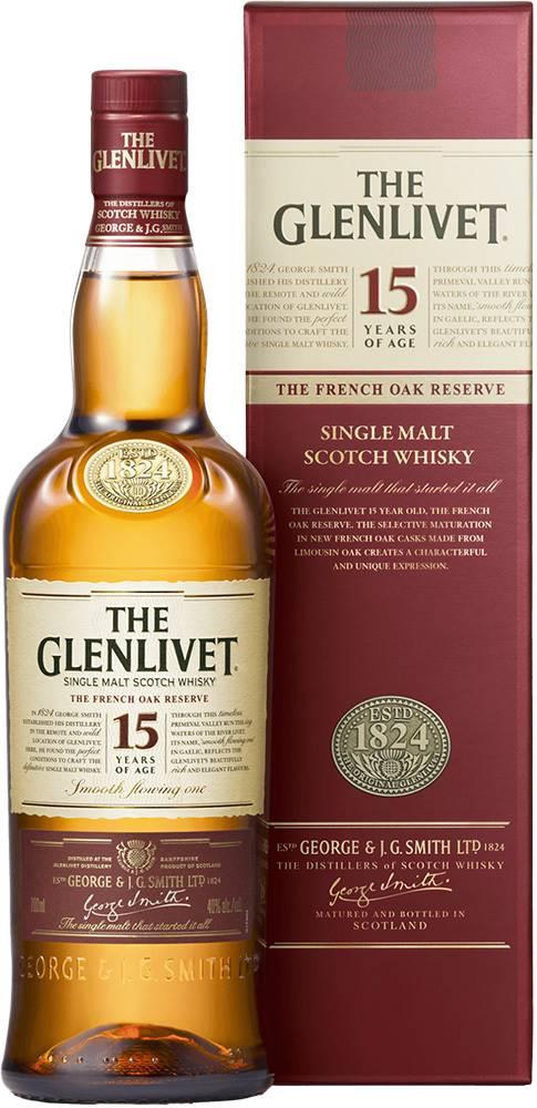 The Glenlivet The Glenlivet 15 ročná 40% 0,7l