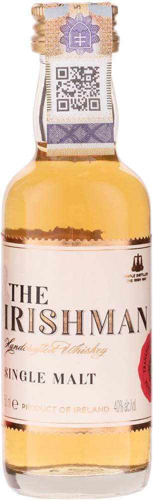 The Irishman The Irishman Single Malt Mini 40% 0,05l