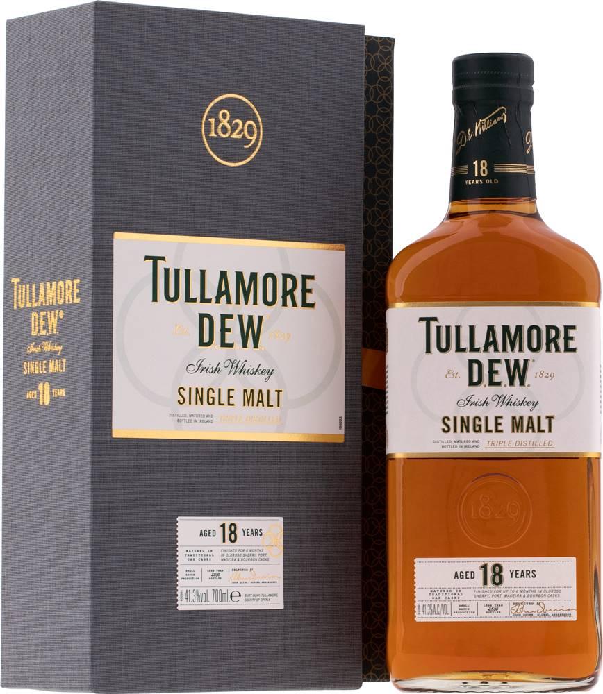 Tullamore Dew Tullamore Dew 18 ročná 41,3% 0,7l