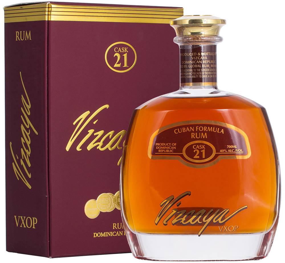 Vizcaya Vizcaya VXOP Cask 21 Cuban Formula Rum 40% 0,7l
