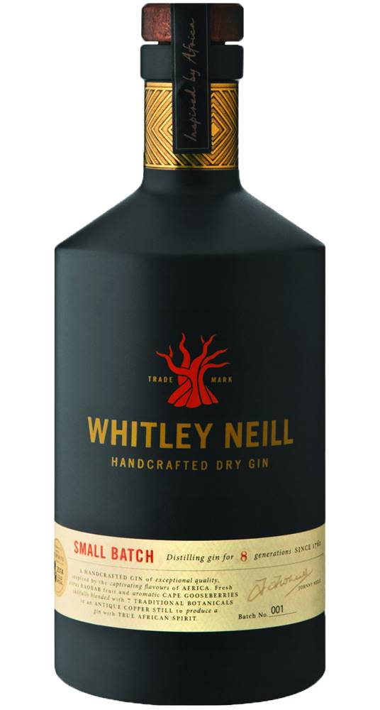 Whitley Neill Whitley Neill Handcrafted Dry Gin 43% 0,7l