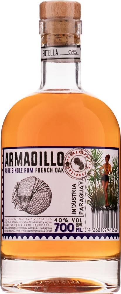Hogerzeil Armadillo French Oak Pure Single Rum 40% 0,7l