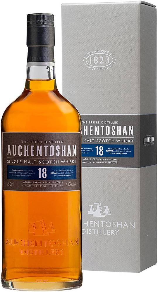 Auchentoshan Auchentoshan 18 ročná 43% 0,7l