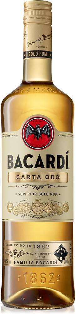 Bacardi Bacardi Carta Oro 37,5% 0,7l