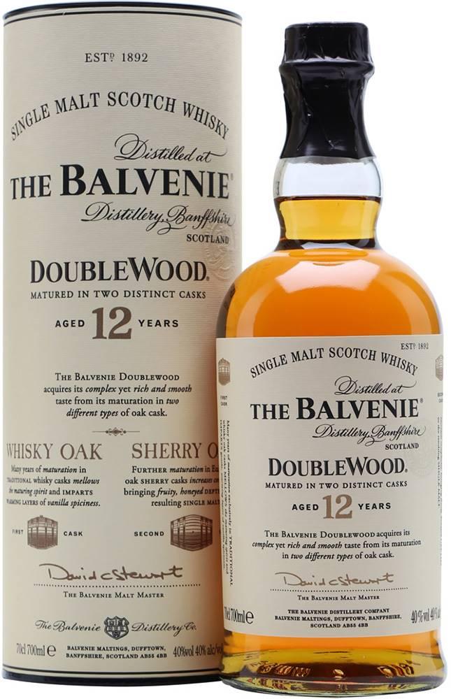 Balvenie The Balvenie DoubleWood 12 ročná 40% 0,7l