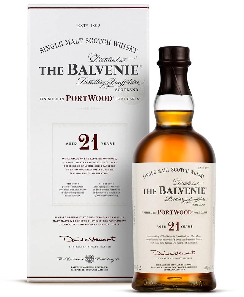 Balvenie The Balvenie PortWood 21 ročná 40% 0,7l