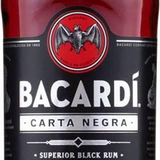 Bacardi Carta Negra 1l 37,5%