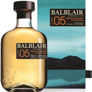 Balblair Vintage 2005 - 1st Release 46% 0,7l