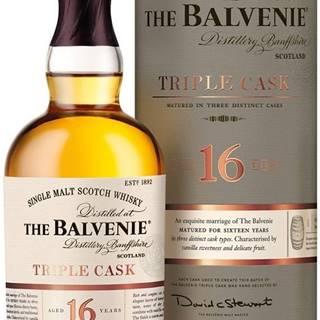 The Balvenie Triple Cask 16 ročná 40% 0,7l