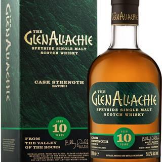 The GlenAllachie 10 ročná Cask Strength Batch 3 58,2% 0,7l