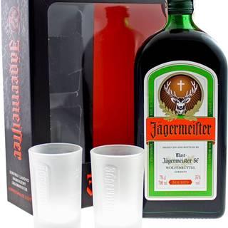 Jägermeister s 2 pohármi 35% 0,7l