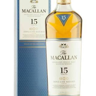 Macallan 15 Ročná Triple Cask Matured 43% 0,7l