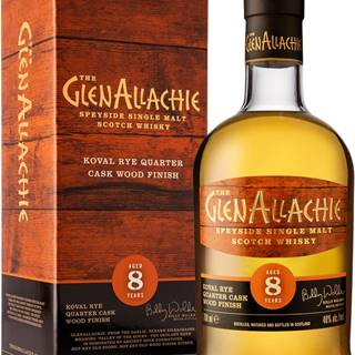 The GlenAllachie 8 ročná Rye Wood Finish 48% 0,7l