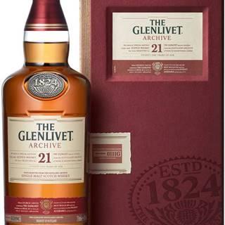 The Glenlivet Archive 21 ročná 43% 0,7l