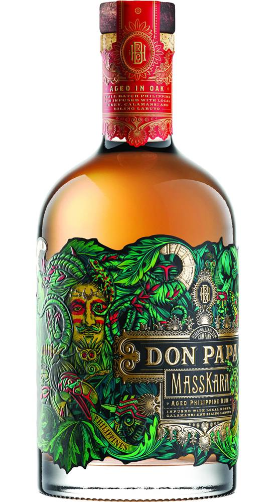 Don Papa Don Papa Masskara Limited Edition 40% 0,7l