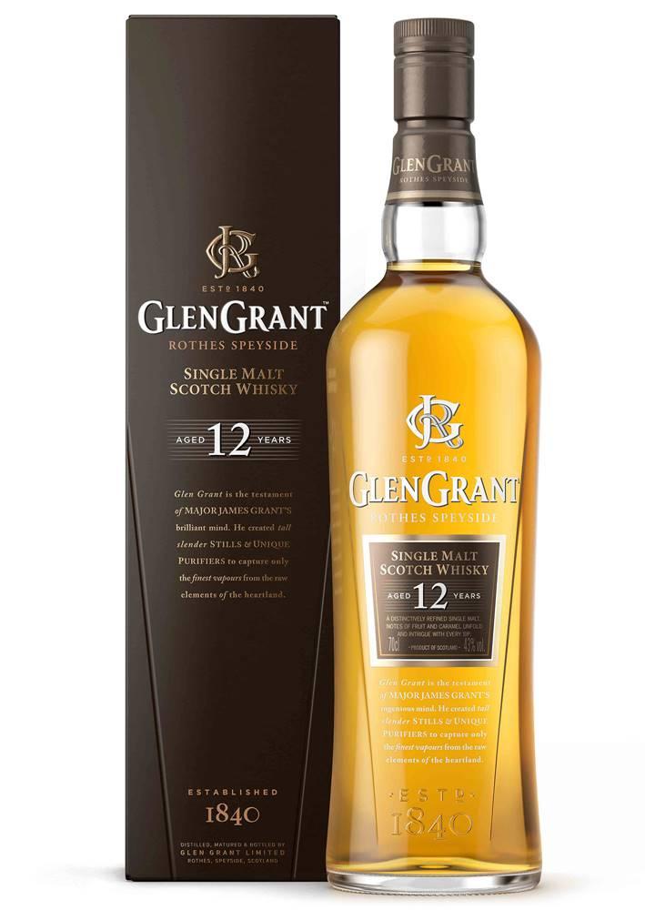 Glen Grant Glen 12 ročná 43% 0,7l