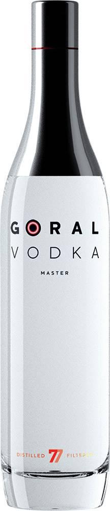 Goral Goral Vodka Master 40% 0,7l