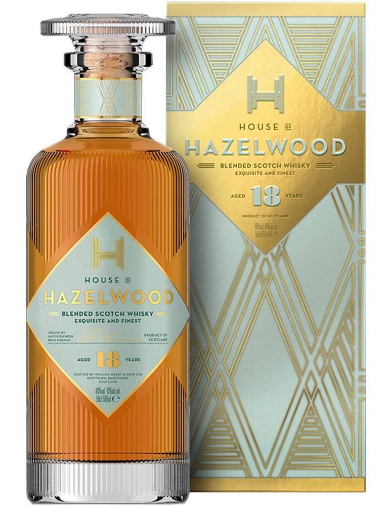 Hazelwood Hoof Hazelwood 18 ročná 40% 0,5l