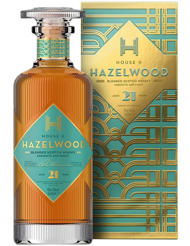 Hazelwood Hoof Hazelwood 21 ročná 40% 0,5l