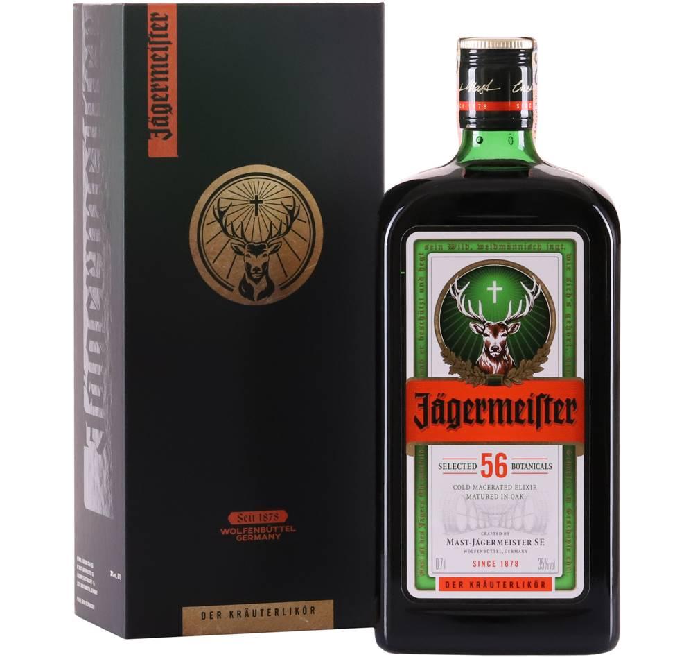 Jägermeister Jägermeister v kartóniku 35% 0,7l