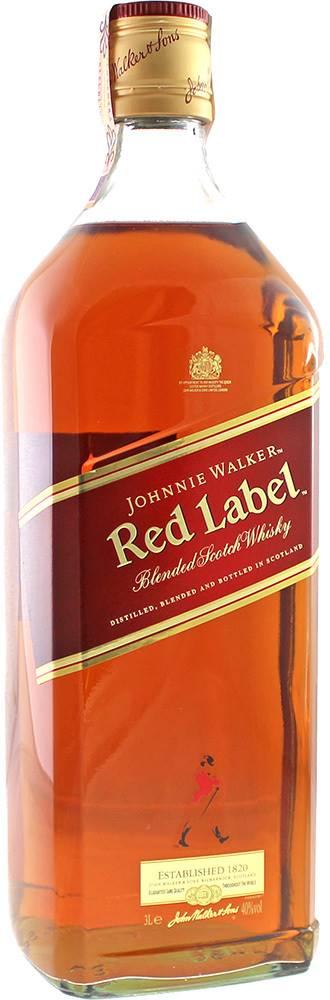 Johnnie Walker Johnnie Walker Red Label 3l 40%