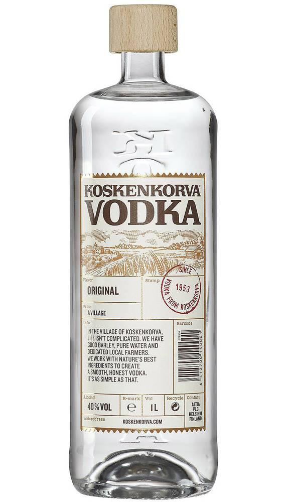 Koskenkorva Koskenkorva Original 1l 40%