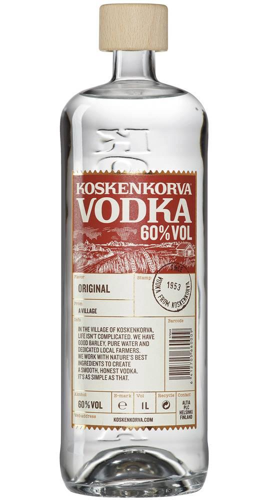 Koskenkorva Koskenkorva Original 1l 60%